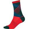 Endura SingleTrack Sokker rød/Bensin